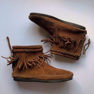Minnetonka Ankle Moccasins